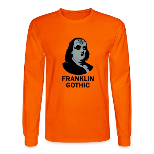 Franklin Gothic - Men's Long Sleeve T-Shirt