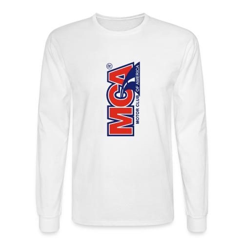 MCA Logo Iphone png - Men's Long Sleeve T-Shirt