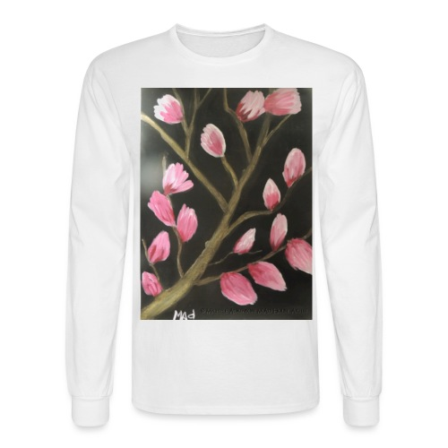 Magnolia Buds Early Spring - Men's Long Sleeve T-Shirt