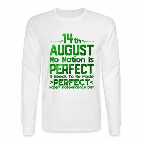 14th August Independence Day - Men's Long Sleeve T-Shirt