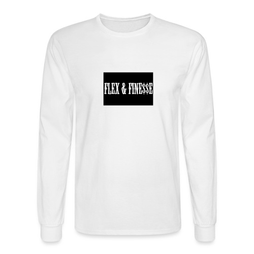Flex & Fine$$e - Men's Long Sleeve T-Shirt