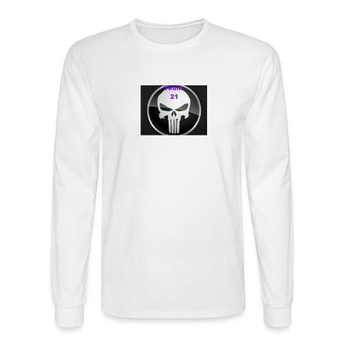 Team 21 white - Men's Long Sleeve T-Shirt