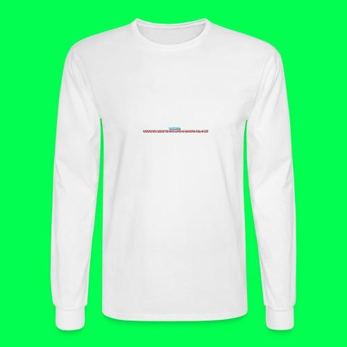 my original quote - Men's Long Sleeve T-Shirt