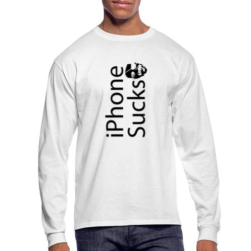iPhone Sucks - Men's Long Sleeve T-Shirt