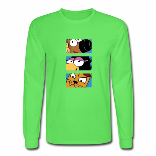 Rantdog Trio - Men's Long Sleeve T-Shirt