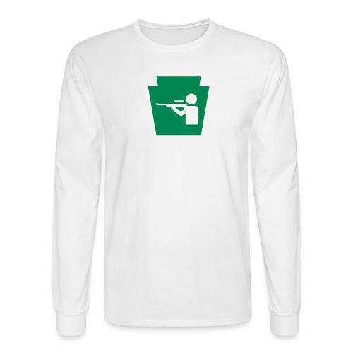 Pennsylvania Hunting Keystone PA - Men's Long Sleeve T-Shirt