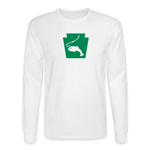 Pennsylvania Fishing Keystone PA - Men's Long Sleeve T-Shirt
