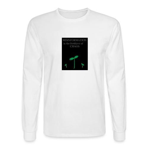 Misinformation - Men's Long Sleeve T-Shirt