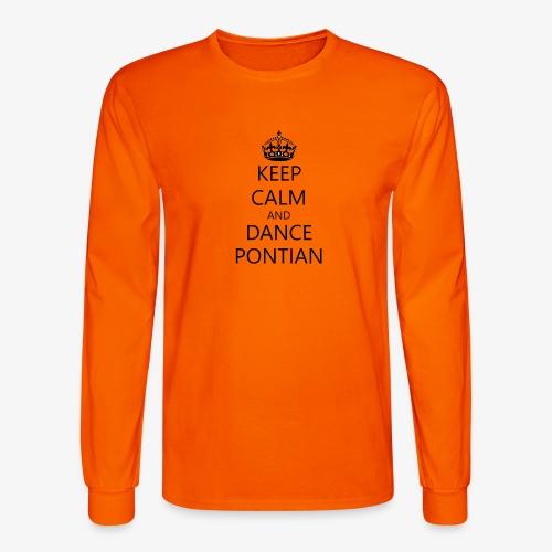 Keep Calm And Dance Pontian - Men's Long Sleeve T-Shirt
