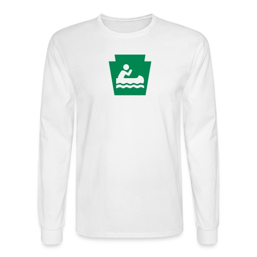 Pennsylvania Keystone Boater PA - Men's Long Sleeve T-Shirt