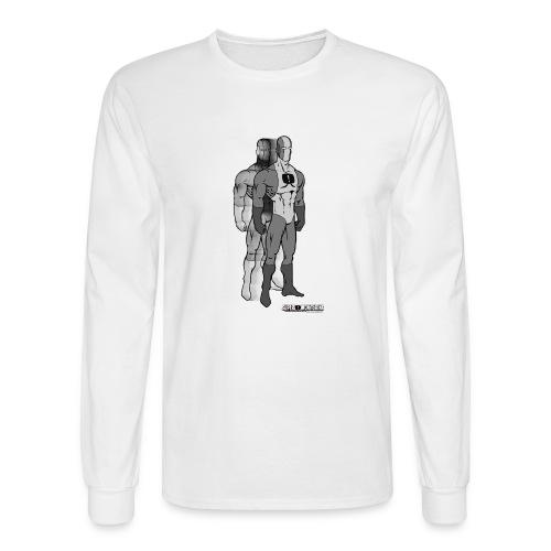Superhero 9 - Men's Long Sleeve T-Shirt