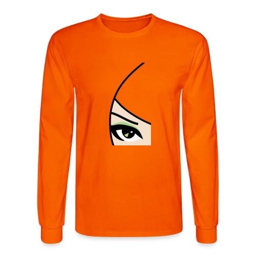 Banzai Chicks Single Eye Women's T-shirt - Men's Long Sleeve T-Shirt