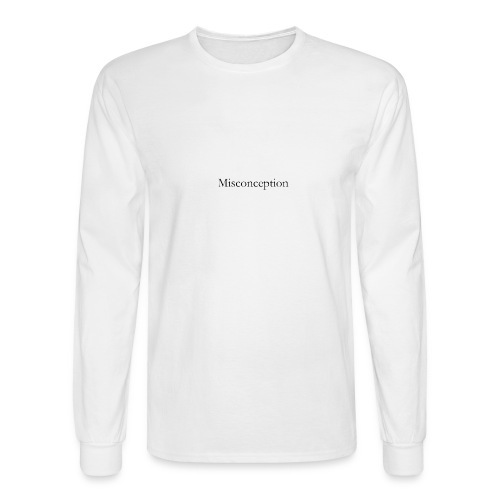 Misconception SS18 - Men's Long Sleeve T-Shirt