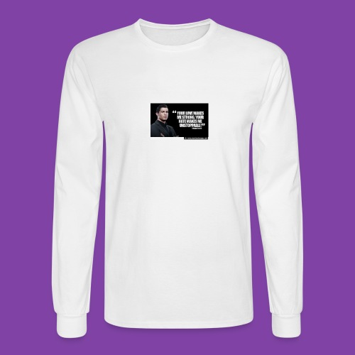 255777-Cristiano-ronaldo------quote-w - Men's Long Sleeve T-Shirt