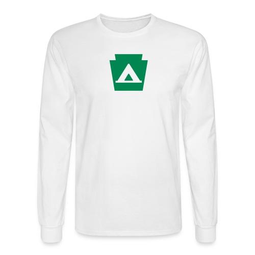 Pennsylvania Camping Keystone PA - Men's Long Sleeve T-Shirt