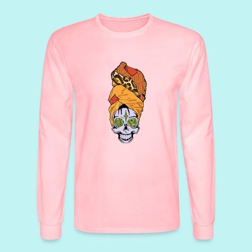 ERYKAH BADU SKULLY - Men's Long Sleeve T-Shirt