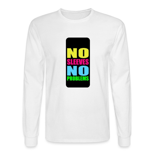 neonnosleevesiphone5 - Men's Long Sleeve T-Shirt