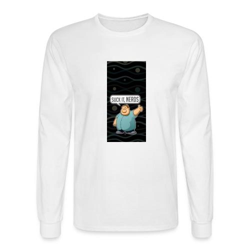 nerdiphone5 - Men's Long Sleeve T-Shirt