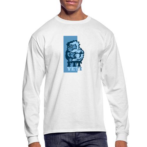 Fit Yeti - Men's Long Sleeve T-Shirt