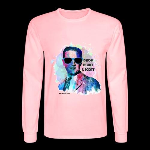 Drop it Like F. Scott | Write Music - Men's Long Sleeve T-Shirt