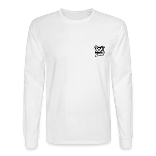 2013 SoCalKC black 2 png - Men's Long Sleeve T-Shirt