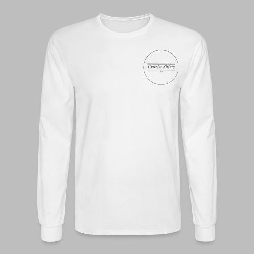 Cruzin Long-Sleeve shirt - White - Men's Long Sleeve T-Shirt