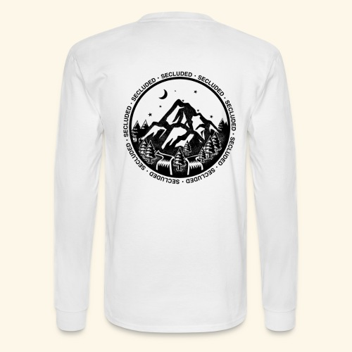 Bellingen Mountain Ranges - Men's Long Sleeve T-Shirt