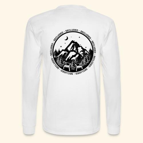 Bellingen Mountain Ranges - Men's Long Sleeve T-Shirt