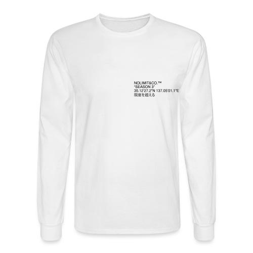 CLEANSEASON3 - Men's Long Sleeve T-Shirt