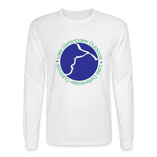 LAKE DIEFENBAKER OUTDOORS - Men's Long Sleeve T-Shirt