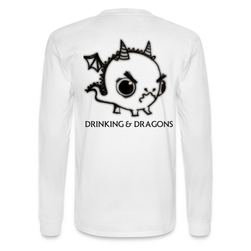 ANGRY DRAGON - Men's Long Sleeve T-Shirt