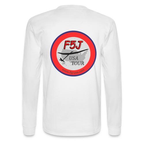 Got F5J? - F5J USA Tour T-shirt, 2 sided - Men's Long Sleeve T-Shirt