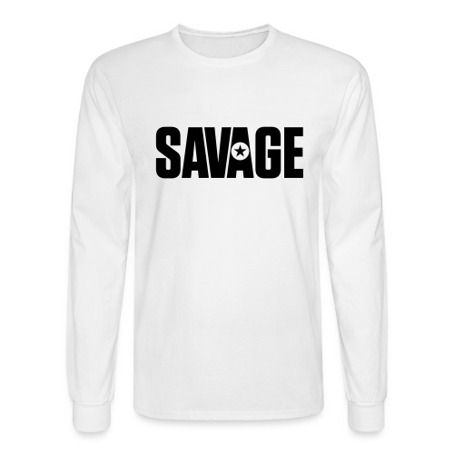 SAVAGE - Men's Long Sleeve T-Shirt