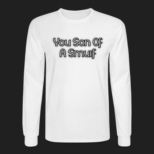 sonofasmurf2 png - Men's Long Sleeve T-Shirt