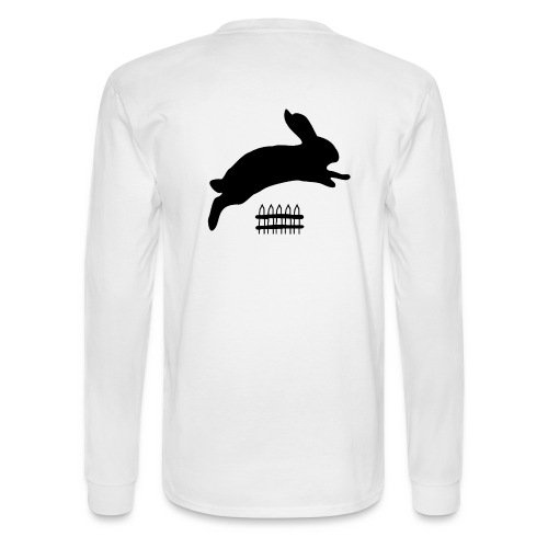 Rabbyt and Fence - Men's Long Sleeve T-Shirt