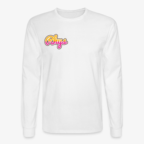 rhys designstyle smoothie m op png - Men's Long Sleeve T-Shirt
