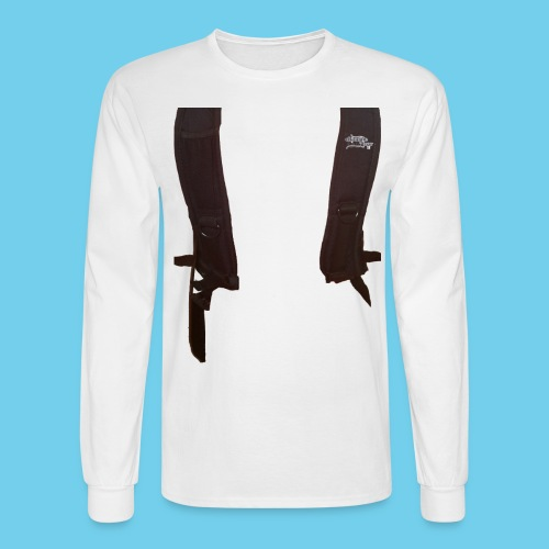 Backpack straps - Men's Long Sleeve T-Shirt