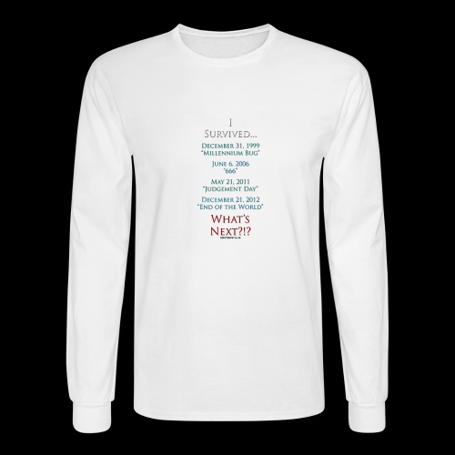 Survived... Whats Next? - Men's Long Sleeve T-Shirt