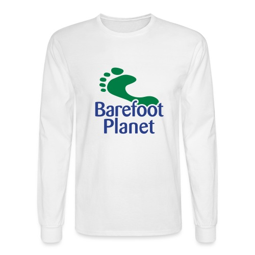 Get Out & Run Barefoot Women's T-Shirts - Men's Long Sleeve T-Shirt
