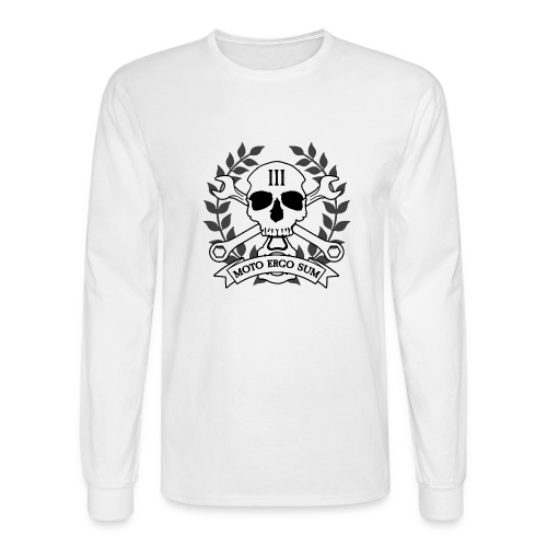 Moto Ergo Sum - Men's Long Sleeve T-Shirt