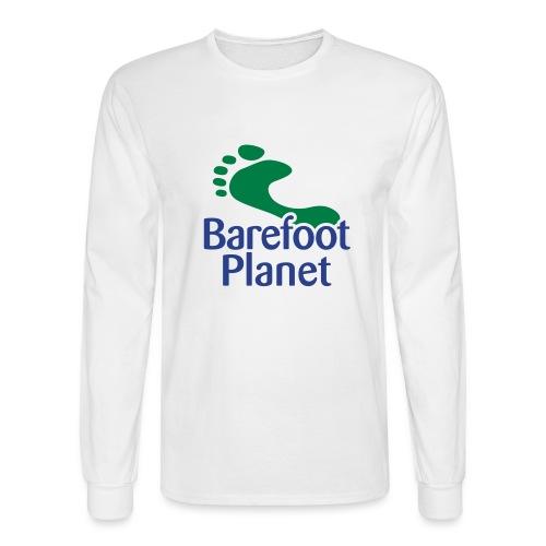 I Run Better, I Run Barefoot Women's T-Shirts - Men's Long Sleeve T-Shirt