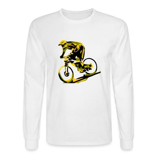 DH Freak - Mountain Bike Hoodie - Men's Long Sleeve T-Shirt