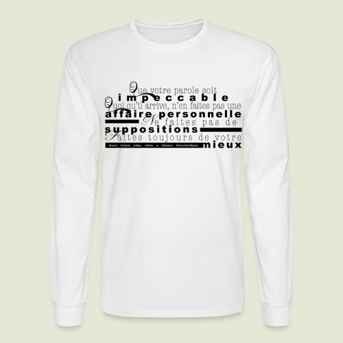 4 Accords Toltèques - Men's Long Sleeve T-Shirt