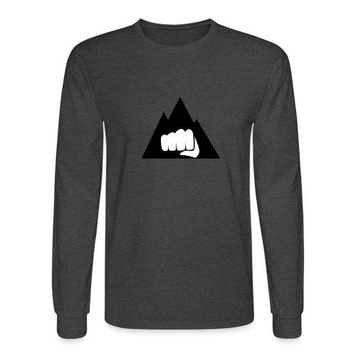 The Mountain Logo T-Shirt (L) Men's Fruit of the L - Men's Long Sleeve T-Shirt