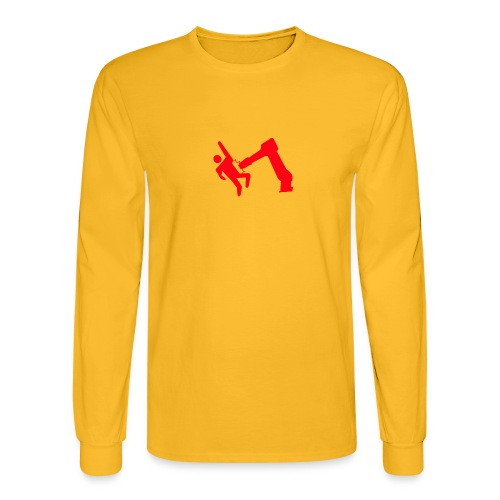 Robot Wins - Men's Long Sleeve T-Shirt