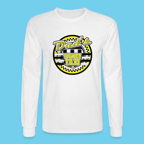 Dad's Swim Taxi - Men's Long Sleeve T-Shirt