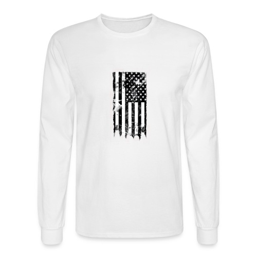 we the people no txt.png - Men's Long Sleeve T-Shirt