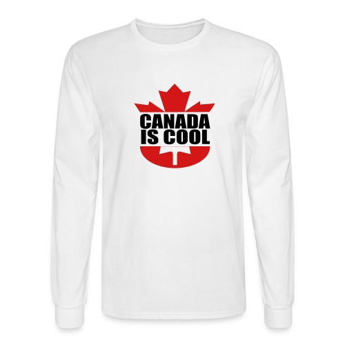 Canada is Cool - Men's Long Sleeve T-Shirt