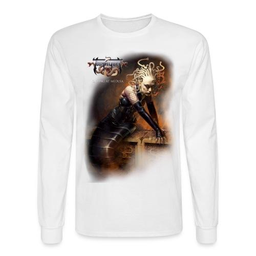 Gazing at Medusa V2 - Men's Long Sleeve T-Shirt
