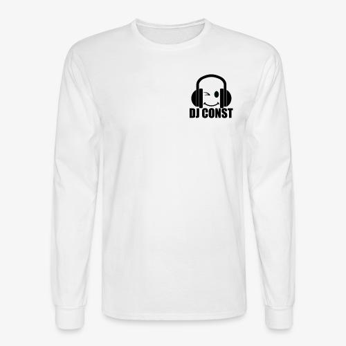 DJ Const Official Merch White - Men's Long Sleeve T-Shirt